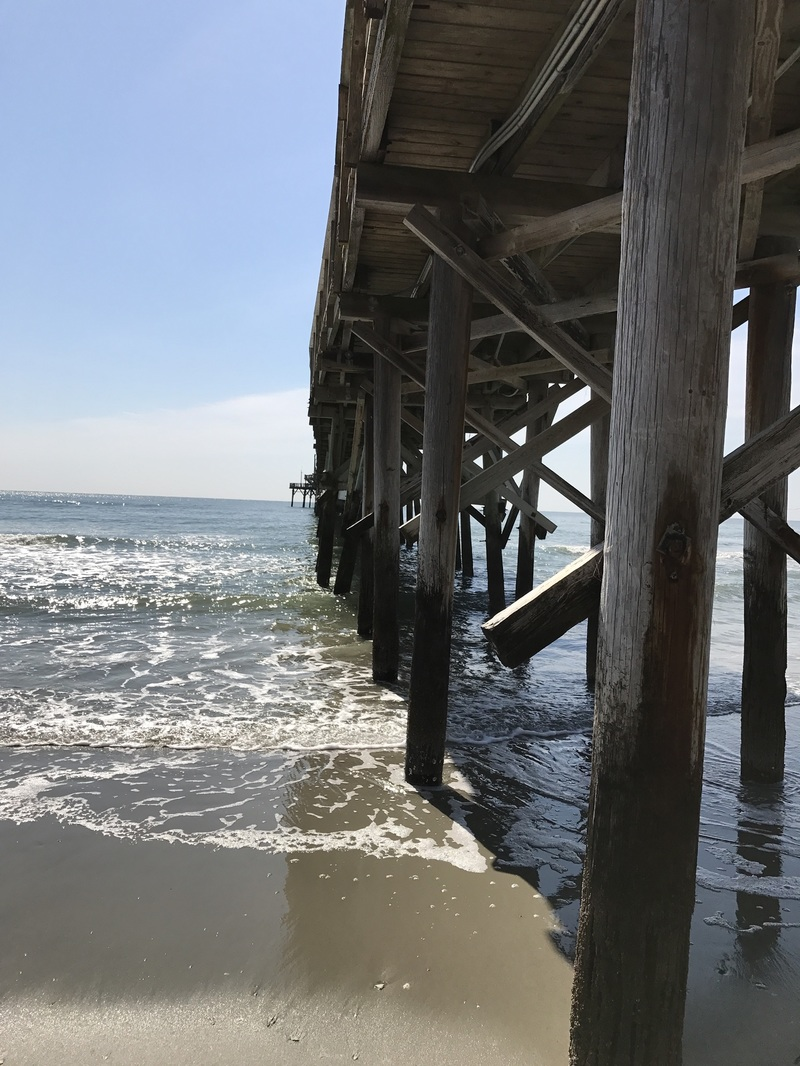 Cherry Grove Pier is close-by. Fishing and ice cream and pictures.